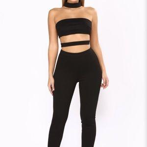 In The Clear Cutout Jumpsuit - Fashion nova